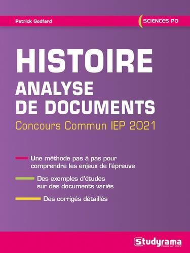 HISTOIRE     ANALYSE DE DOCUMENTS