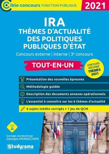 IRA  -  THEMES D'ACTUALITE DES POLITIQUES PUBLIQUES D'ETAT (EDITION 2021)