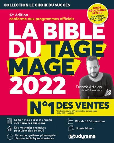 LA BIBLE DU TAGE MAGE 2022 - 12E EDITION ATTELAN, FRANCK  STUDYRAMA