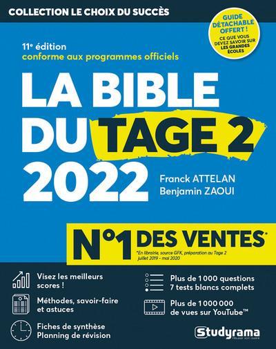 LA BIBLE DE TAGE 2 2022 - 11E EDITION