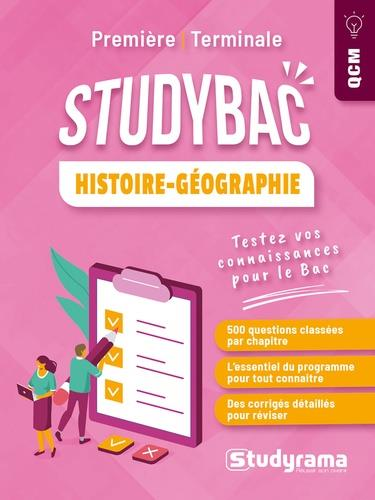 STUDYBAC  -  HISTOIRE-GEOGRAPHIE : TESTEZ VOTRE CONNAISSANCE DU PROGRAMME RANDRIANARISOA G. STUDYRAMA
