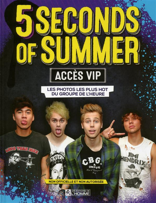 5 SECONDS OF SUMMER - ACCES V.I.P. BESLEY PRESTON HOMME (DE L')