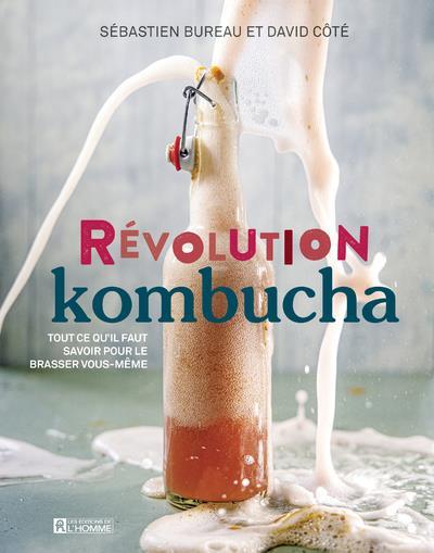 REVOLUTION KOMBUCHA COTE/BUREAU L HOMME