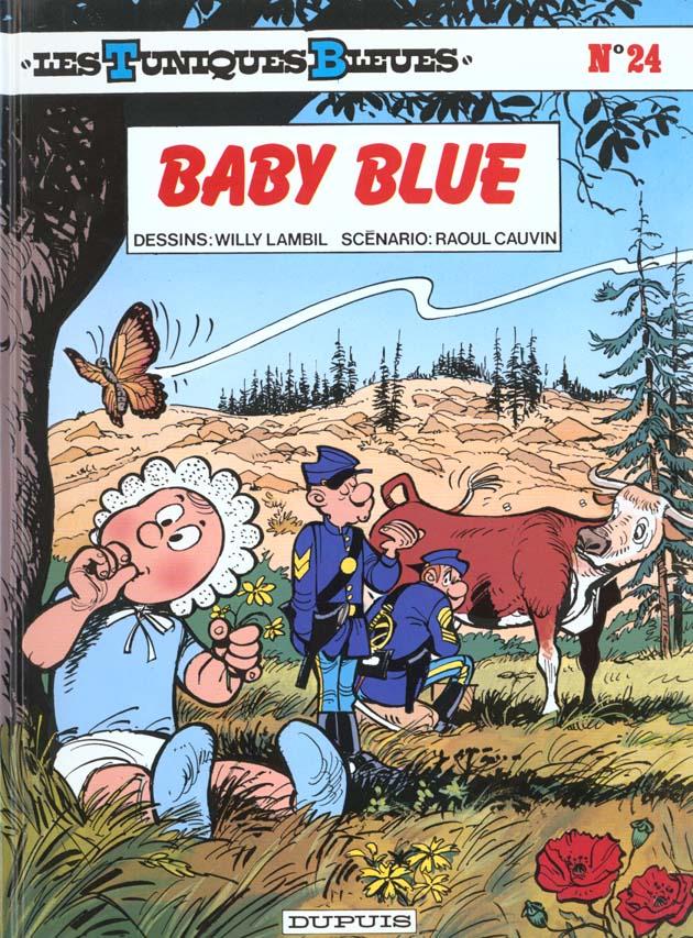 LES TUNIQUES BLEUES T.24  -  BABY BLUE CAUVIN, RAOUL  DUPUIS