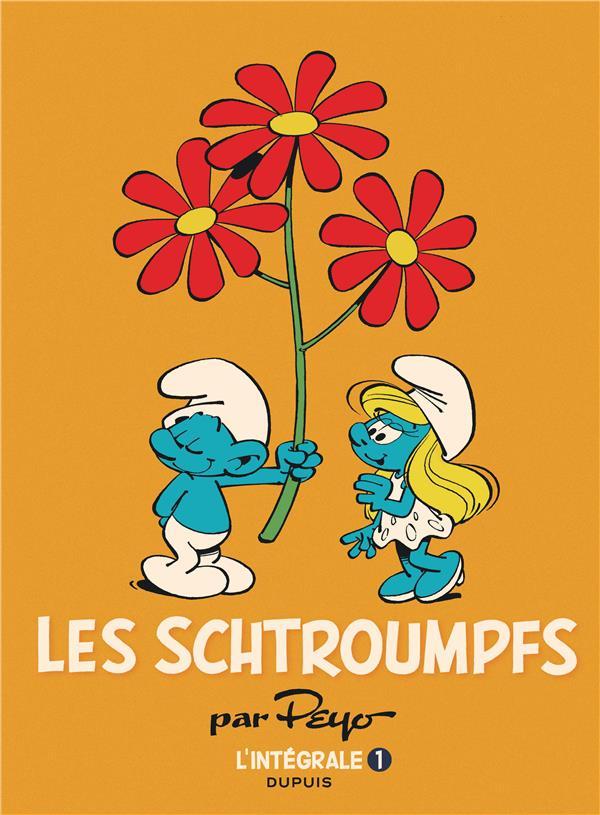 LES SCHTROUMPFS  -  INTEGRALE VOL.1  -  1958-1966 Peyo Dupuis