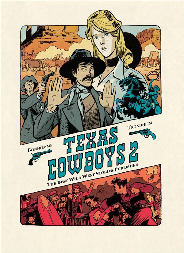 Texas cowboys Vol.2 Trondheim Lewis Dupuis