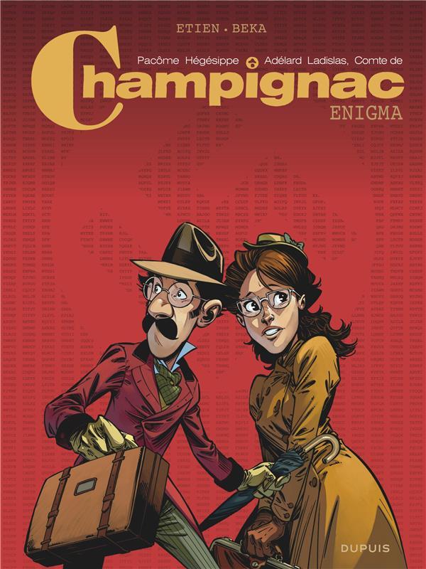 CHAMPIGNAC - TOME 0 - ENIGMA ETIEN DAVID DUPUIS