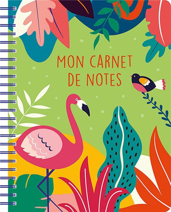 MON CARNET DE NOTES  -  TROPICAL GREEN COLLECTIF NC