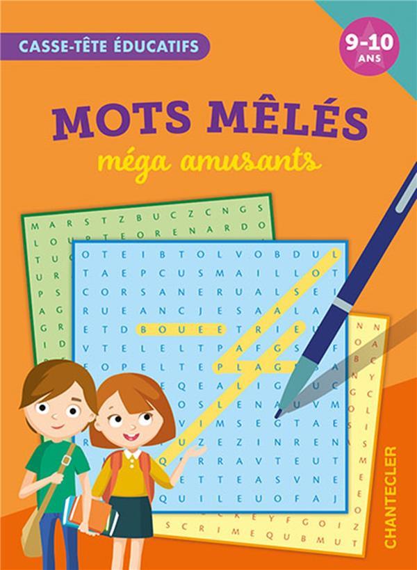 CASSE-TETE EDUCATIFS : MOTS MELES MEGA AMUSANTS COLLECTIF CHANTECLER