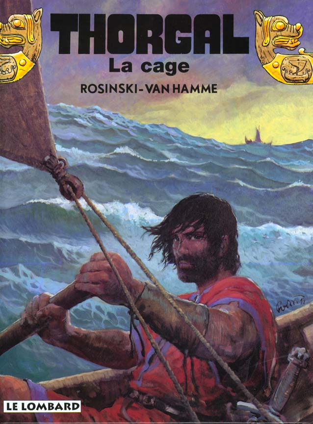 THORGAL T.23  -  LA CAGE ROSINSKI/VAN HAMME LOMBARD