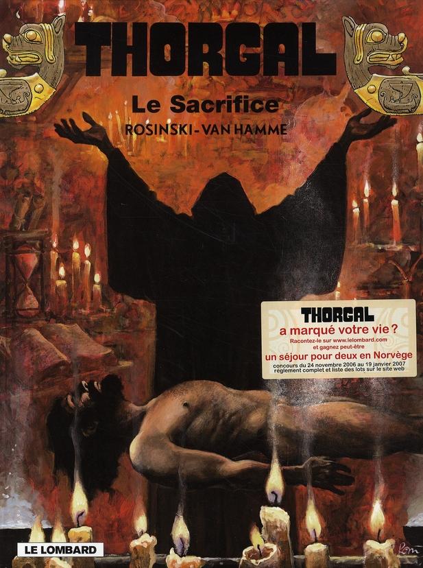 THORGAL T.29  -  LE SACRIFICE ROSINSKI/VAN HAMME LOMBARD