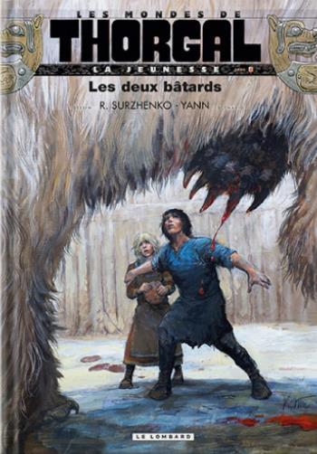LES MONDES DE THORGAL - LA JEUNESSE DE THORGAL T.8  -  LES DEUX BATARDS YANN/SURZHENKO LOMBARD