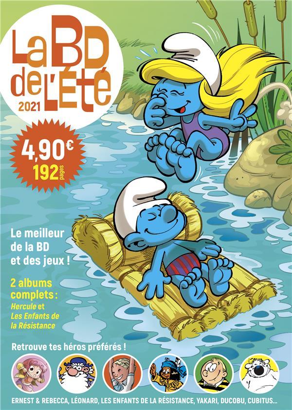 LA BD DE L'ETE ZIDROU/DE GROOT/PEYO LOMBARD