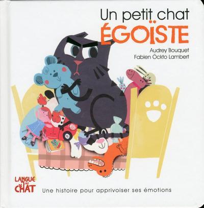 UN PETIT CHAT  -  EGOISTE BOUQUET Langue au chat