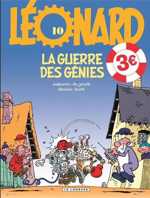 LEONARD - TOME 10 - LA GUERRE DES GENIES  EDITION SPECIALE (OP ETE 2021)