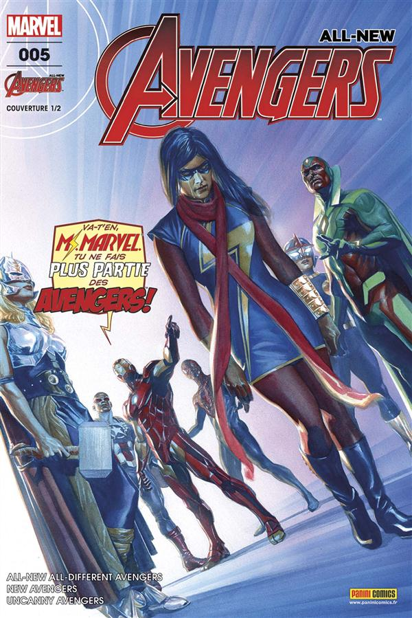 XXX - ALL-NEW AVENGERS N  5 (COUVERT