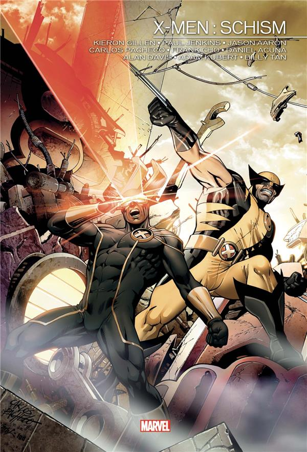 X-MEN: SCHISM AARON/JENKINS/CHO PANINI COM MAG