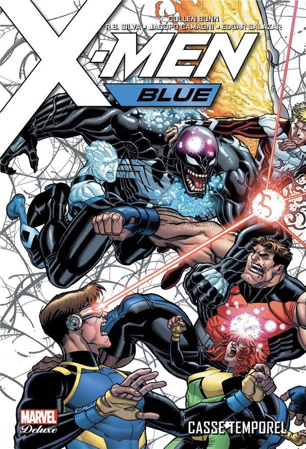 X-MEN BLUE T.2  -  CASSE TEMPOREL  SILVA, R B   PANINI COM MAG
