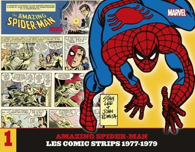 THE AMAZING SPIDER-MAN  -  LES COMIC STRIPS  -  1977-1979 LEE/ROMITA JR. PANINI COM MAG