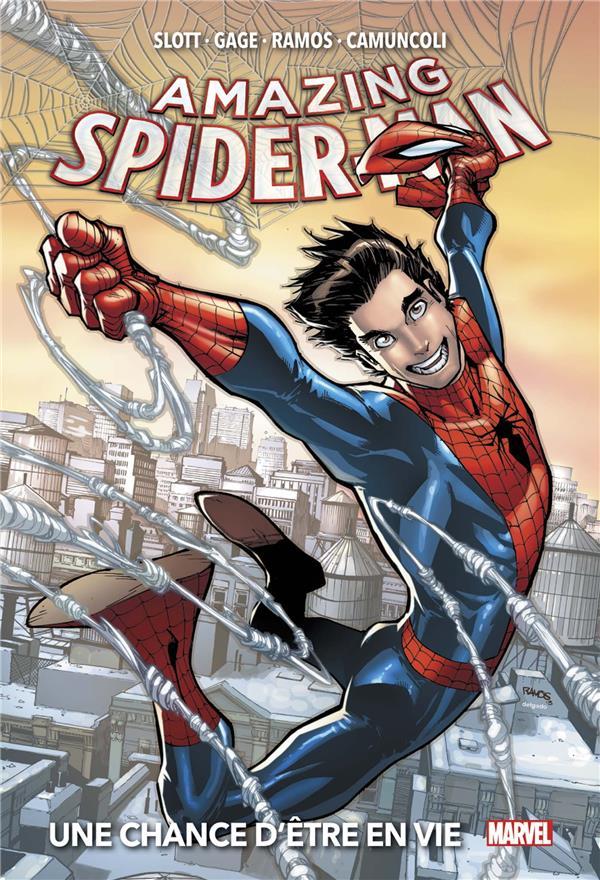 THE AMAZING SPIDER-MAN  -  UNE CHANCE D'ETRE EN VIE SLOTT/CAMUNCOLI PANINI COM MAG