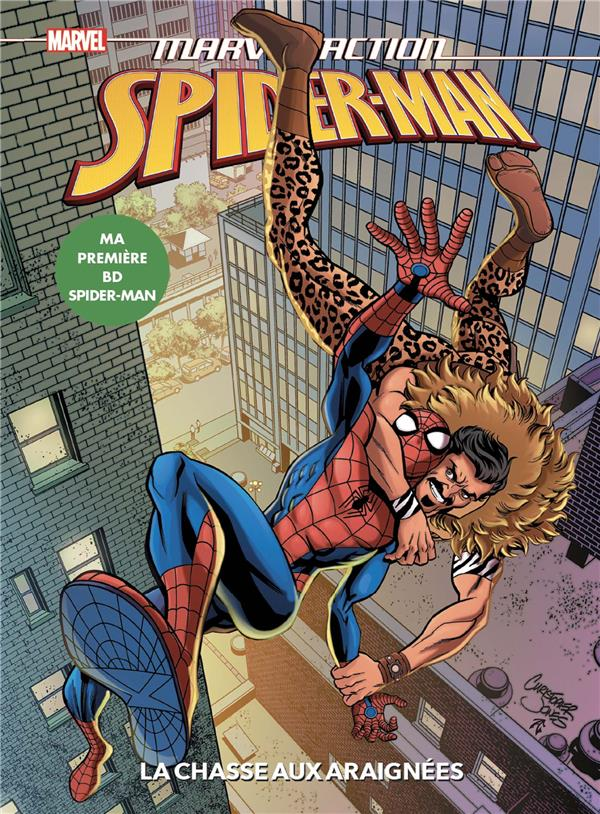 SPIDER-MAN  -  LA CHASSE AUX ARAIGNEES BURNHAM/JONES PANINI COM MAG