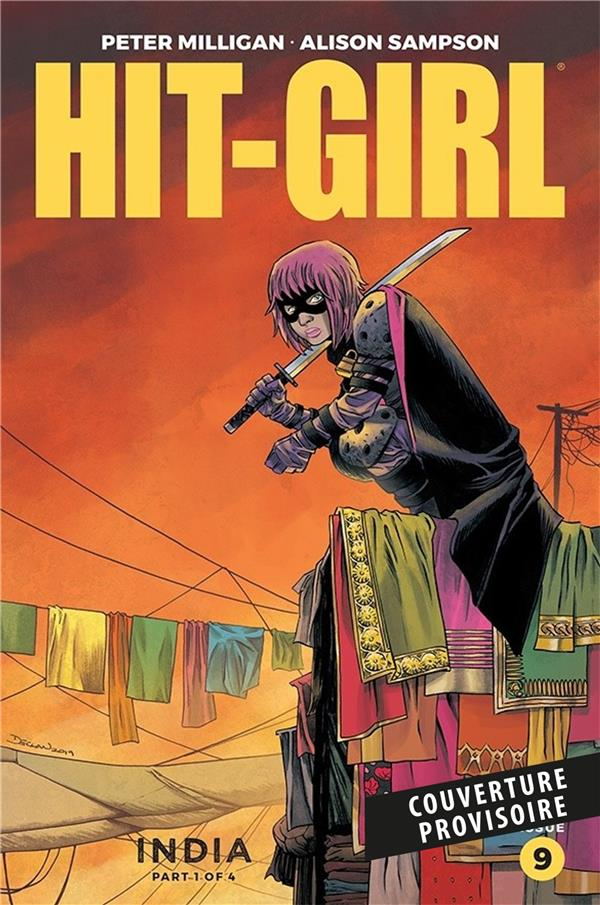 HIT-GIRL EN INDE MILLIGAN/SAMPSON PANINI COM MAG