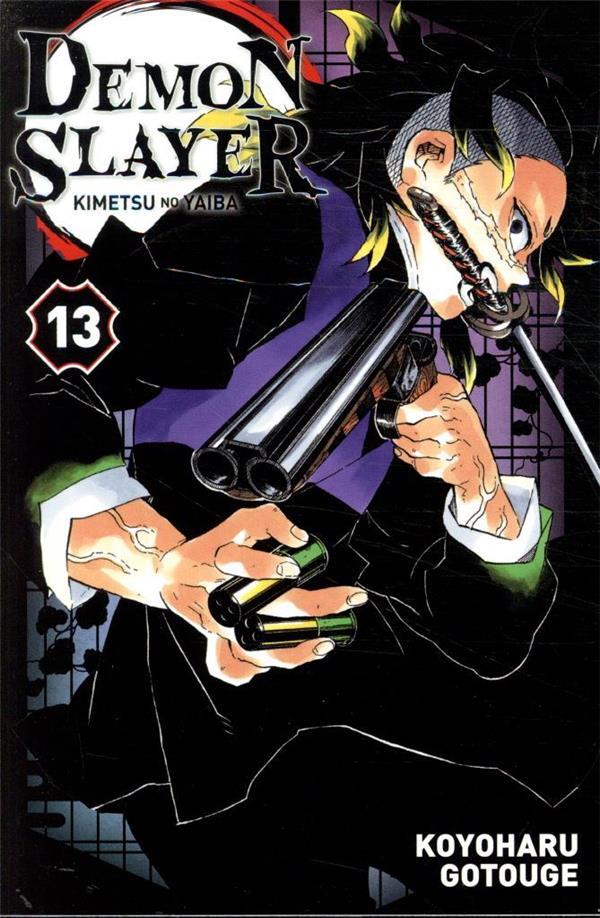 DEMON SLAYER T.13 GOTOGE, KOYOHARU PANINI COM MAG
