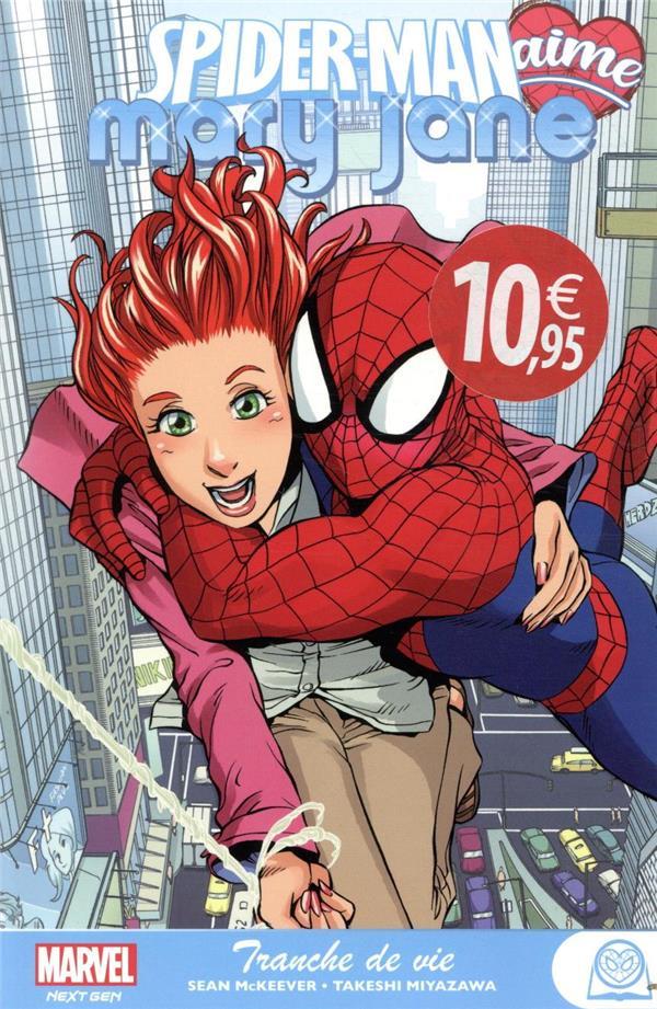 SPIDER-MAN LOVES MARY JANE MCKEEVER/MIYAZAWA PANINI COM MAG