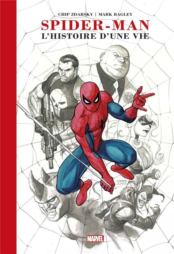 SPIDER-MAN : L'HISTOIRE D'UNE VIE (EDITION PRESTIGE) MARINI/ZDARSKY PANINI COM MAG