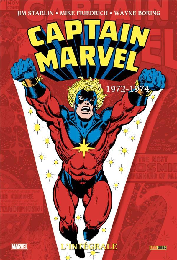 CAPTAIN MARVEL  -  INTEGRALE VOL.3  -  1972-1974