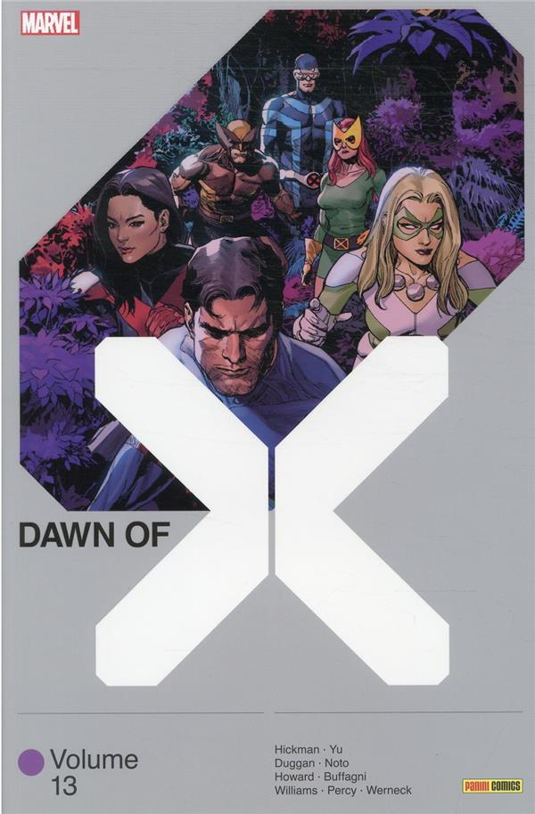 DAWN OF X VOL. 13 HICKMAN/DUGGAN/YU PANINI COM MAG
