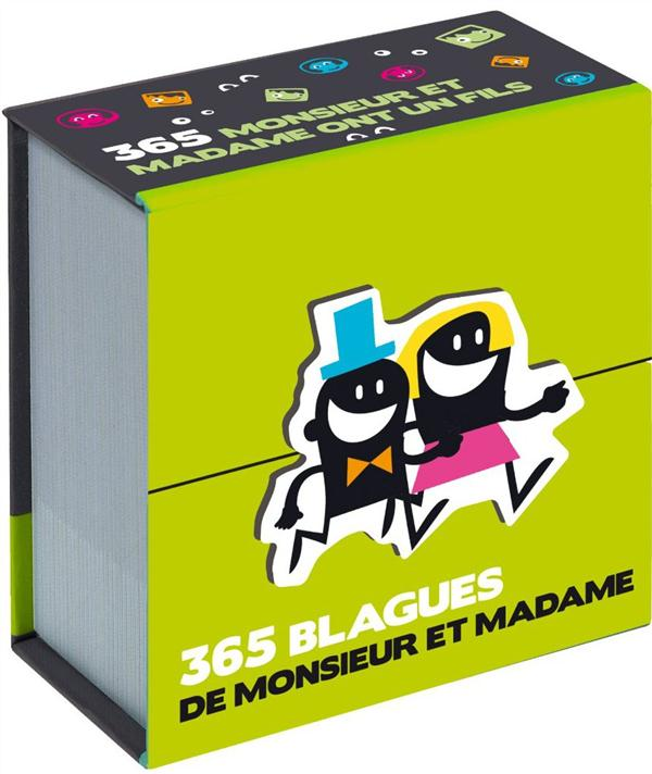 MINI CALENDRIER - 365 BLAGUES DE MONSIEUR ET MADAME  Play Bac