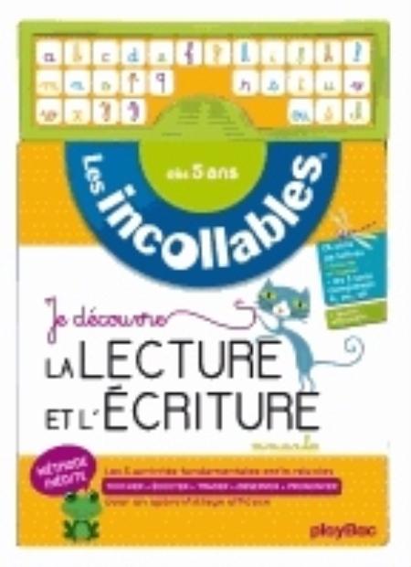 INCOLLABLES - JE DECOUVRE LA LECTURE ET L'ECRITURE MINUSCULES - DES 5 ANS XXX Play Bac