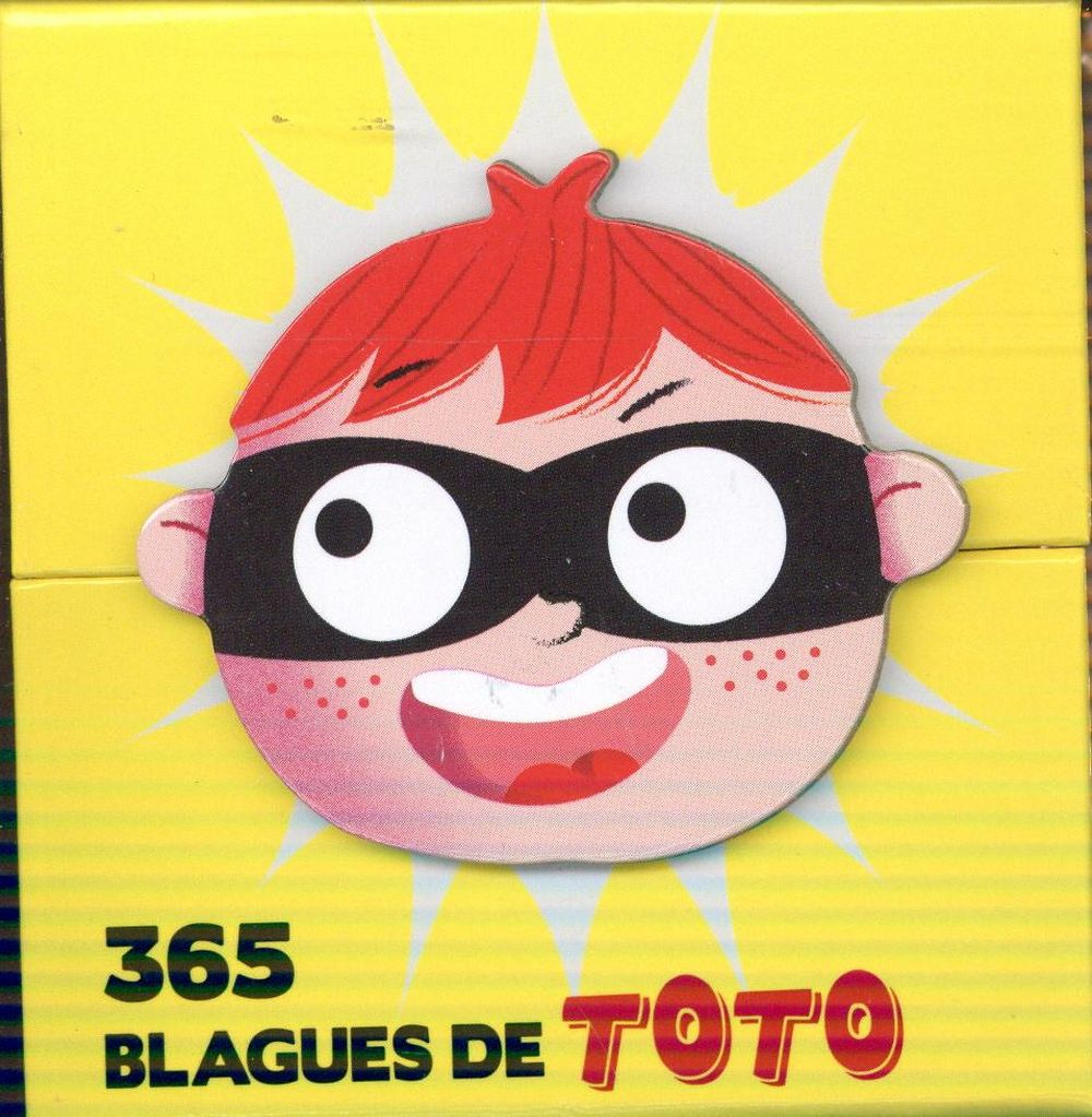 MINI CALENDRIER - 365 BLAGUES DE TOTO  Play Bac