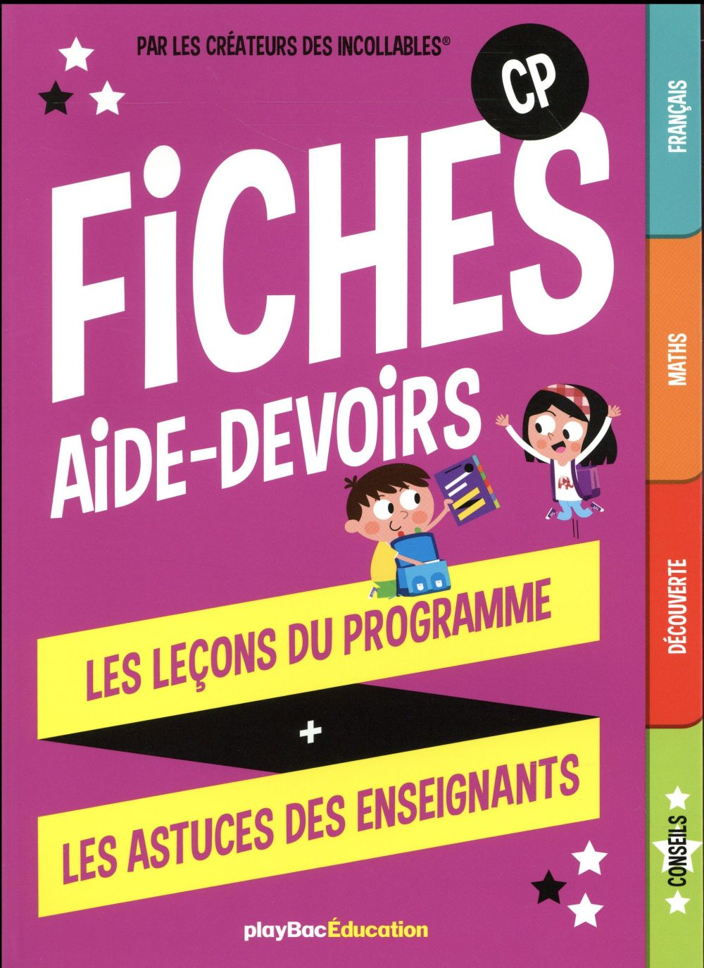 Fiches aide-devoirs, CP  Play Bac
