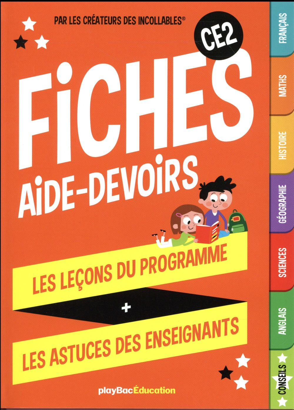 MES FICHES AIDE-DEVOIRS  -  CE2  Play Bac