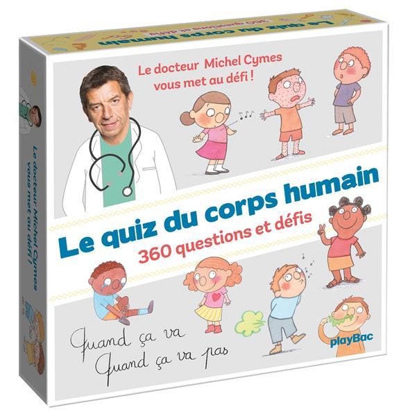 COFFRET LE QUIZ DU CORPS HUMAIN DE CYMES