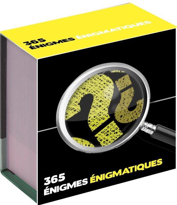 MINI CALENDRIER - 365 JOURS D'ENIGMES
