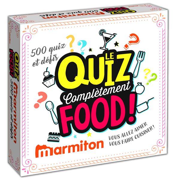 BOITE QUIZ - COMPLETEMENT FOOD - MARMITON - VOUS ALLEZ VOUS FAIRE CUISINER!  PRISMA