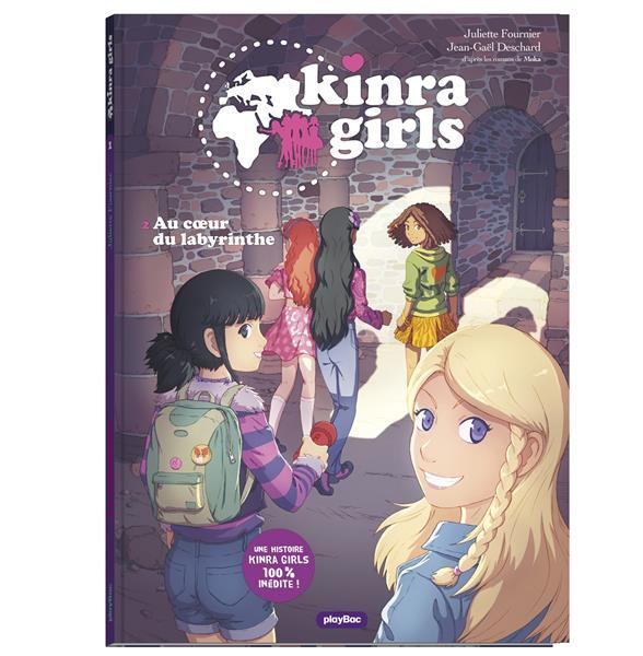 KINRA GIRLS - BD - AU COEUR DU LABYRINTHE - TOME 2  FOURNIER, JULIETTE PRISMA