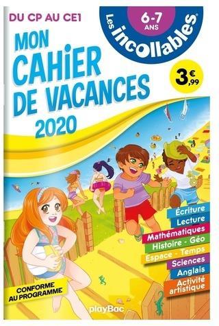 LES INCOLLABLES  -  CAHIER DE VACANCES  -  DU CP AU CE1