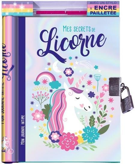 MES SECRETS DE LICORNE  -  MON JOURNAL INTIME XXX NC