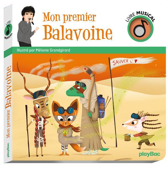 LIVRE MUSICAL  -  MON PREMIER BALAVOINE