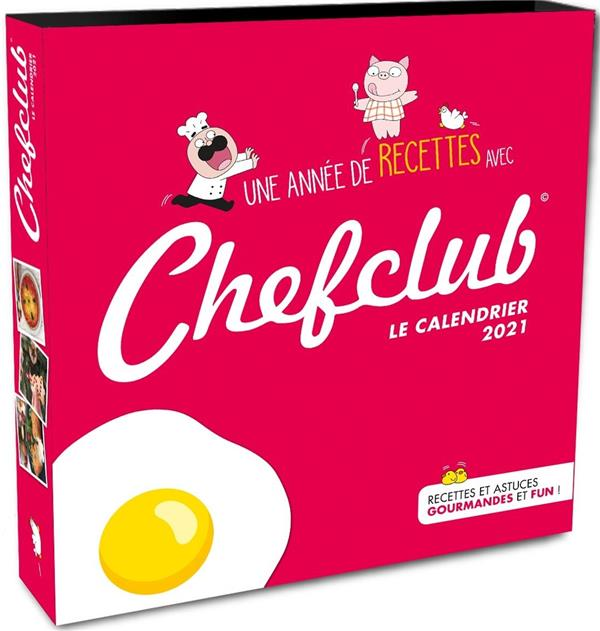 CALENDRIER CHEFCLUB 2020-2021
