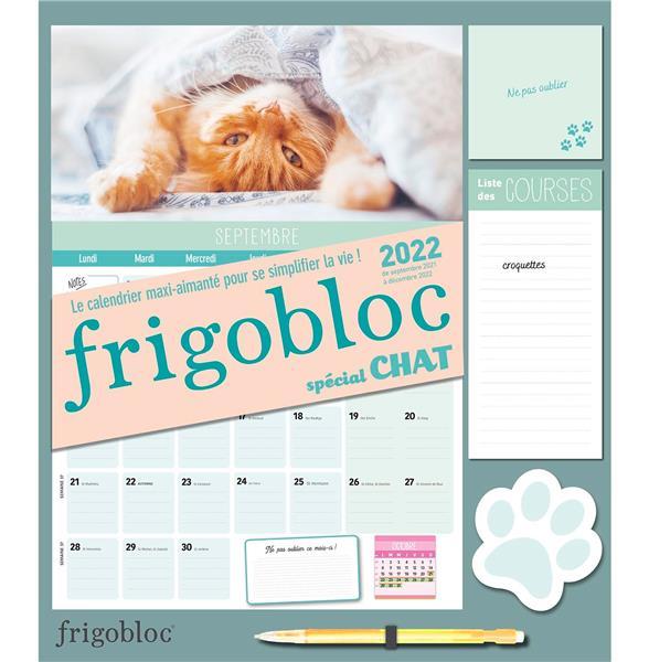 FRIGOBLOC MENSUEL  -  SPECIAL CHATS (EDITION 2022)  COLLECTIF NC