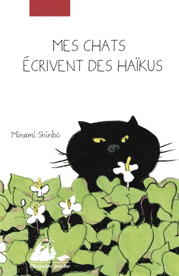 MES CHATS ECRIVENT DES HAIKUS MINAMI SHINBO PICQUIER
