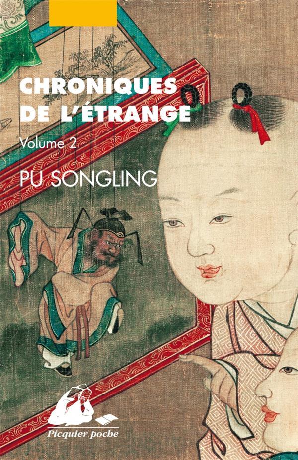 CHRONIQUES DE L'ETRANGE T.2