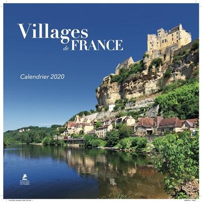CALENDRIER VILLAGES DE FRANCE 2020