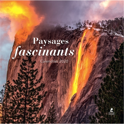 CALENDRIER PAYSAGES FASCINANTS 2020 COLLECTIF PLACE VICTOIRES