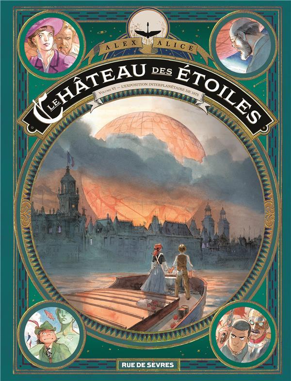LE CHATEAU DES ETOILES T.6  -  L'EXPOSITION INTERPLANETAIRE DE 1875